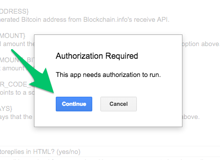 Step 5 - authorize